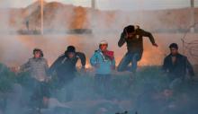Faixa de Gaza, 11 de Janeiro de 2019. REUTERS Ibraheem Abu Mustafa