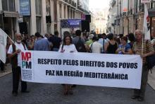 Acto Público pelo Fim das Mortes no Mediterrâneo